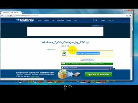 How to change your Windows 7/Vista start orb