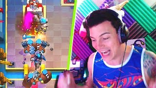 Double Hunters = Ez Wins!! Best Current Clash Royale Decks With Nickatnyte!