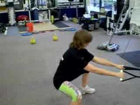 FlexBands build strong, firm legs