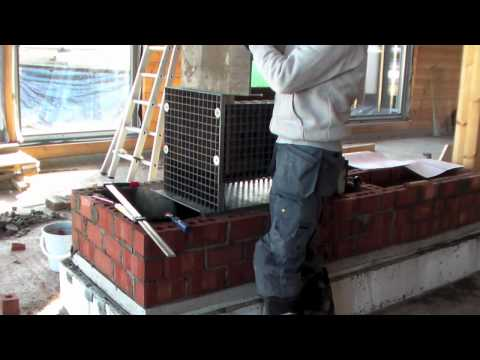 building your own clay stove with heating recuperation
