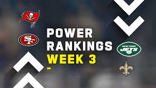 Week 3 Power Rankings!