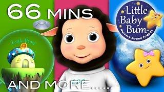 Baa Baa Black Sheep | Plus Lots More Nursery Rhymes | 66 Minutes Compilation from LittleBabyBum!