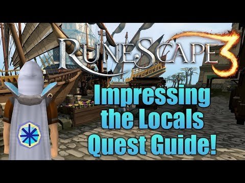 Runescape 3: Impressing the Locals Quest Guide!