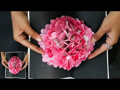 DIY FLOWER POP-UP CARD   MOTHERS DAY CARD MAKING  