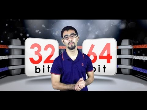 Windows 32Bit & 64Bit Version Explained  (Hindi)