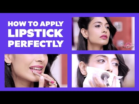How To Apply Lipstick Perfectly | BeBeautiful