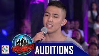 """Download Pinoy Boyband Superstar Judges' Auditions: Tony Labrusca - """"You And Me"""" Video"""