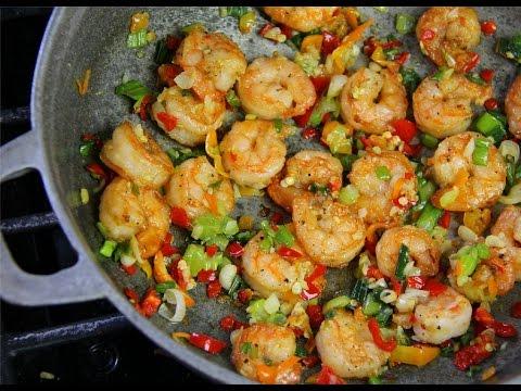 Tasty Pepper Shrimp #TastyTuesdays | CaribbeanPot.com