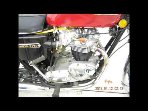 motorcycle#5 Triumph Bonneville 7750, 1976, Runs, Title, T140vpn65007Lot # 5 (Sale Order: 5 of 180)