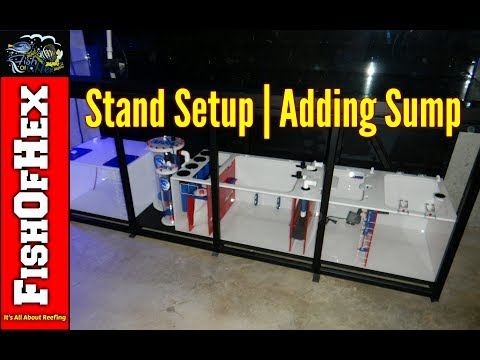 300 Gallon Build | Getting The Stand Ready & Adding The Sump