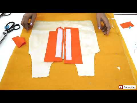 Kurta Patti Opening | Neck Placket | How To Sewing Tutorial | Diy