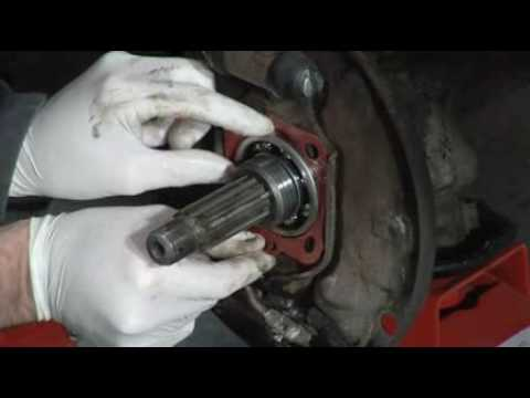 How to replace the rear hub seal on your VW - Final assembly (4 of 4)