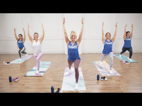 30-Minute Cardio Dance and Yoga Hybrid Take Flight