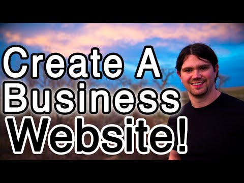How to Make a BUSINESS Website with WordPress - PROFESSIONAL!