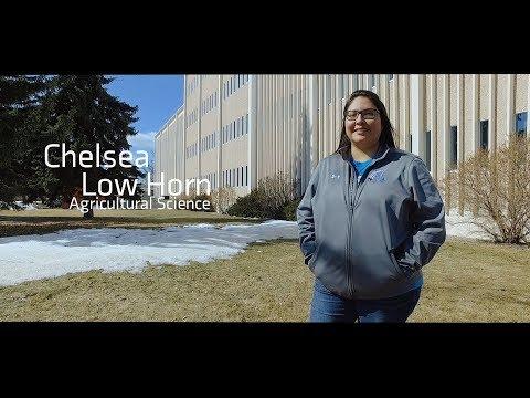 Lethbridge College Convocation 2018 - Chelsea Low Horn