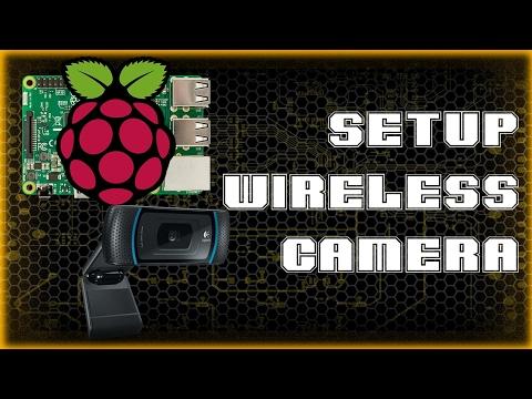 Wireless camera setup with Raspberry Pi