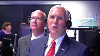 Vice President Pence Visits NASA