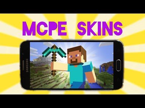 Minecraft PE 0.11.0 Custom Skin Tutorial