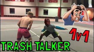 FRUSTRATING 1 ON 1 VS TRASH TALKER!!