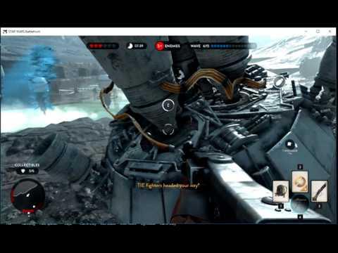 star wars battlefront survived almost 10 waves