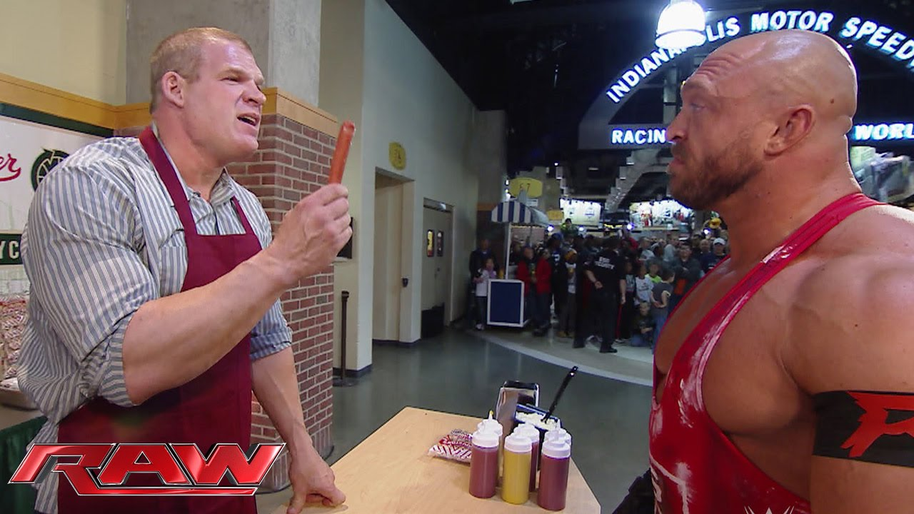 Concessions Kane goes to work: Raw, November 24, 2014