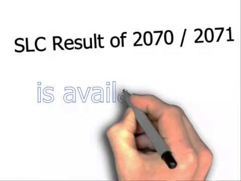 SLC Result 2070 2071 check with Marksheet