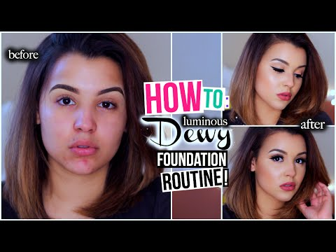 How To: Flawless Luminous Dewy Foundation Routine! | MakeupbyAmarie