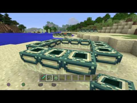 How to make a end PORTAL in Minecraft on ps4