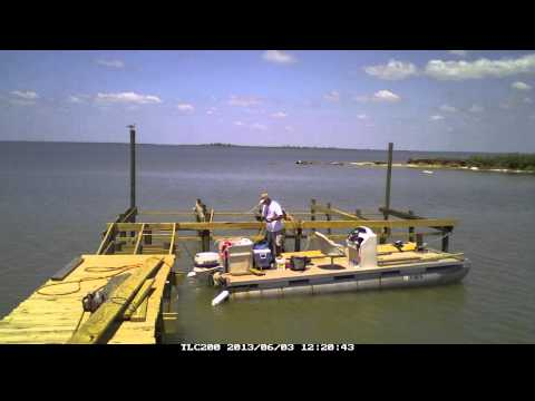 How to build a Pier in Just over 8 minutes. The video is 8 minutes the pier took several weeks
