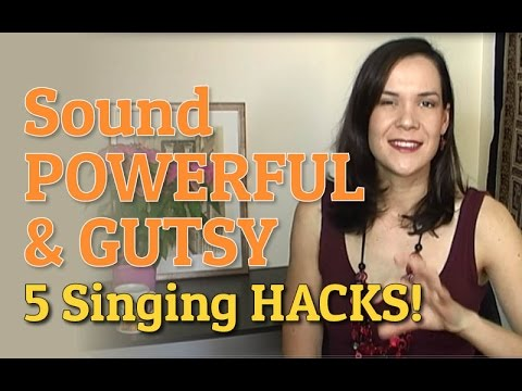 Sound Powerful & Gutsy! 5 Singing Hacks To Give Your Voice Oomph