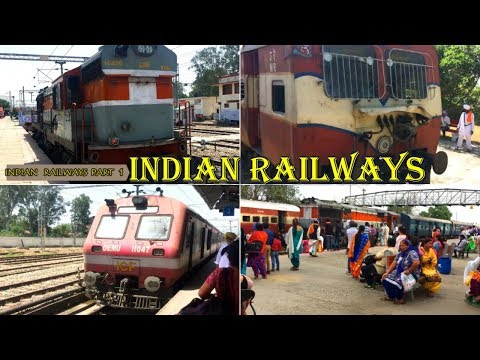 Diesel engine, railway track: INDIAN RAILWAYS