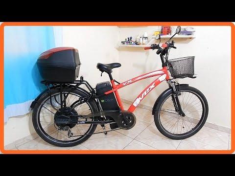 Minha bicicleta elétrica Dafra VEX
