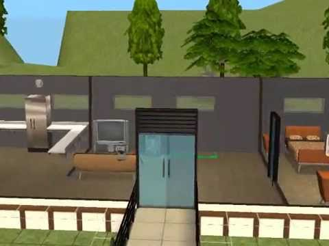 The Sims 2 Building A Simple Modern House