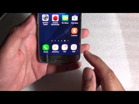 Samsung Galaxy S7: How to Create a Folder in Bottom Dock from Home Screen