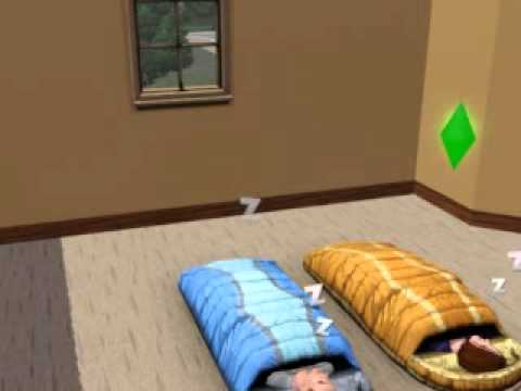 The Sims 3 Generations Sleeping Bags