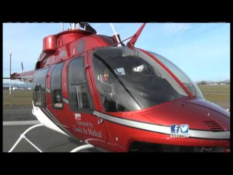 Oregon Lifeguard Welcomes New Helicopter