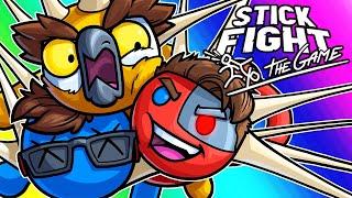 Stick Fight Funny Moments - Time to Get Sticky, Boys!