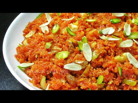 Gajar Ka Halwa Recipe - Simple and Tasty Gajar Halwa - Carrot Halwa/Easy Indian Sweet Dish