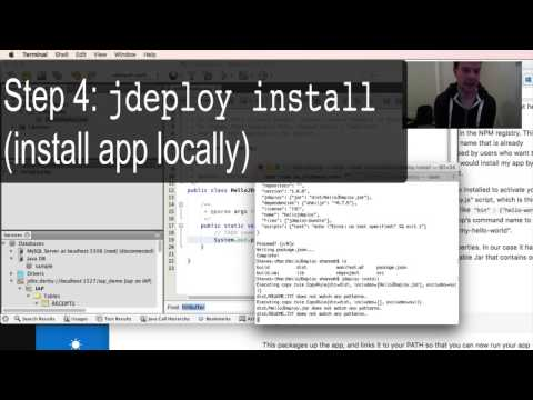 Intro to jDeploy