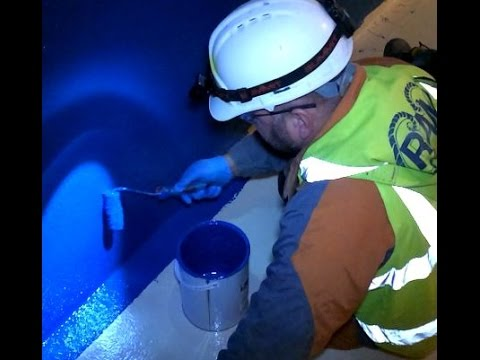 A drinking water tank at Lostock water treatment works is set for a brighter future.