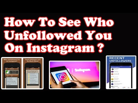 How to see who unfollowed you on Instagram | Unfollowers tracker apps for Instagram