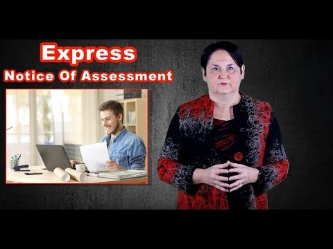 NEW Canada Revenue Agency (CRA) Service: Express NOA