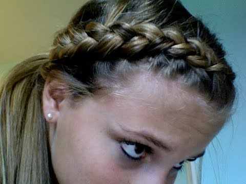 Dutch Braid Ponytail Tutorial | Tasha Farsaci