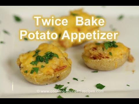 Savory Twice Baked Potato Appetizers | Rockin Robin Cooks