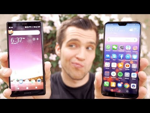 Sony Xperia XZ2 vs Huawei P20 PRO - Camera Comparison Review !