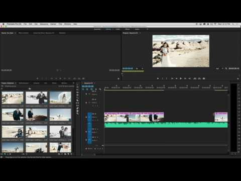 Matching Photos to Music for a Slideshow in Premiere Pro