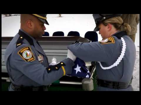 Henrico County Police Division Honors National Police Week - Warrior's Prayer