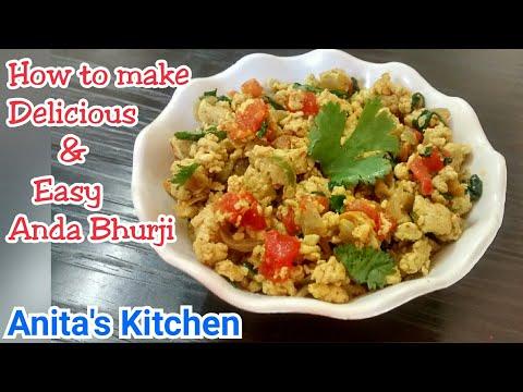 Anda bhurji recipe   5 minute recipe   egg bhurji recipe