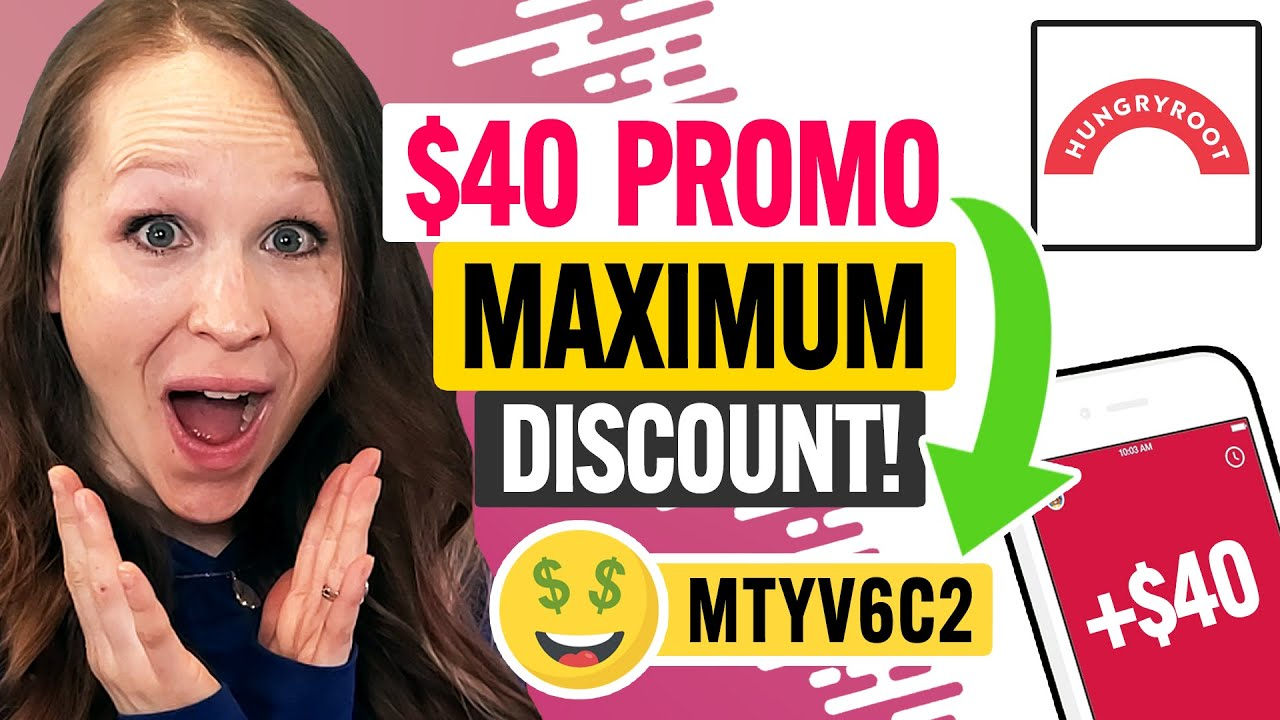 🤑 Hungryroot Promo Code 2021 - $40 Maximum Discount for New Customers! (100% Works)