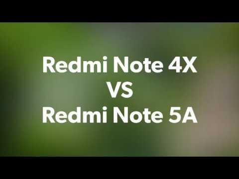Redmi Note 4X VS Redmi Note 5A - Rear Camera | Photo - Videoaudio
